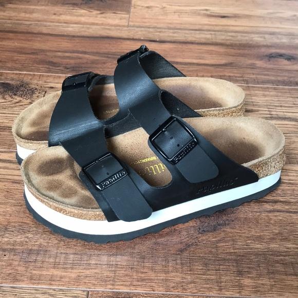 61166a6c4691 Birkenstock Shoes - BIRKENSTOCK Papillio Arizona Platform Size 36
